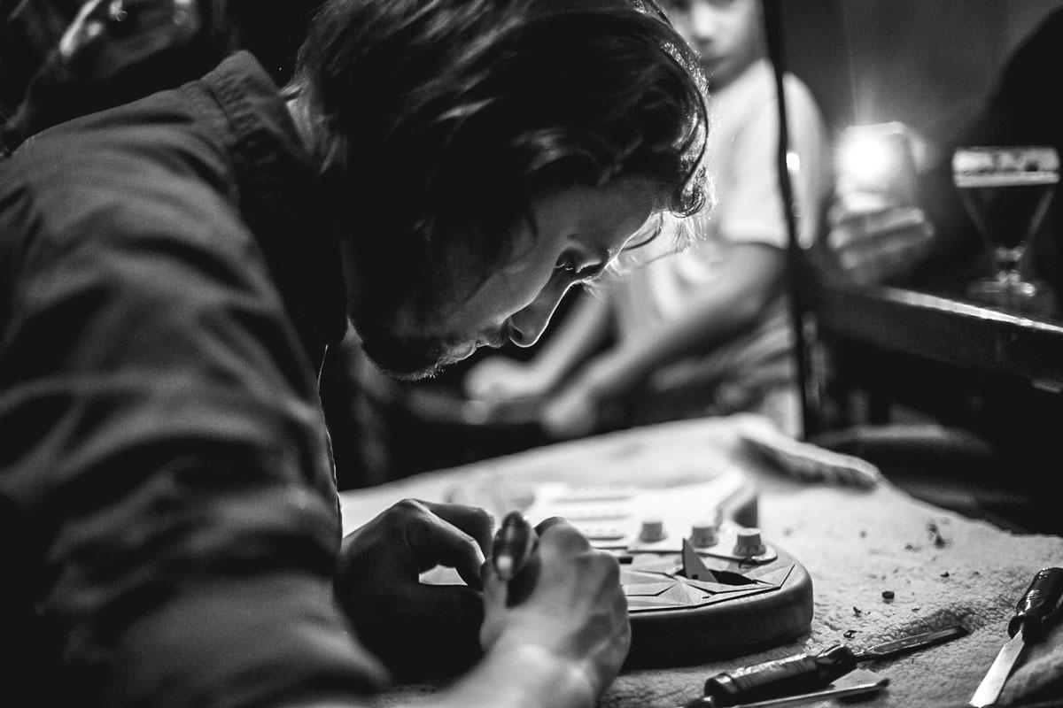 Nicola Pavan artigiano del legno e liutaio