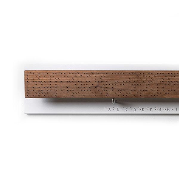 Opera artistica in legno e ferro